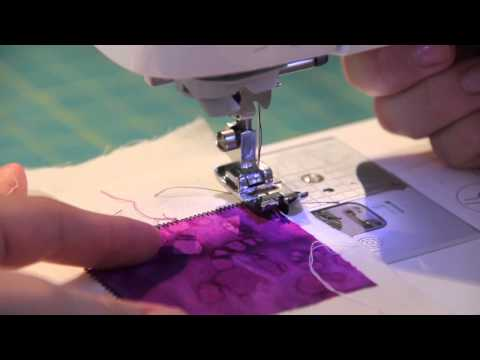 Learn How to Use a Edge/Joining/Stitch-in-a-Ditch Foot