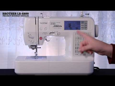 Brother LB6800PRW Sewing Machine