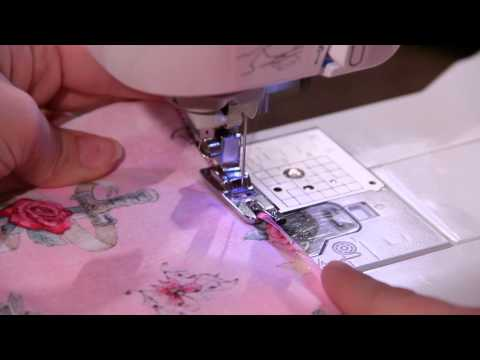 How To Use A Picot Foot Sewing Parts Online Everything Sewing Classy Picot Stitch Sewing Machine