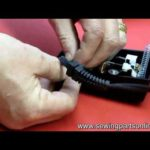 How to install a cord on a sewing machine