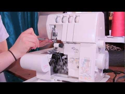 Thread a Serger