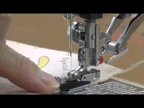 "How To: Use A 1/4"" Guide Presser Foot"