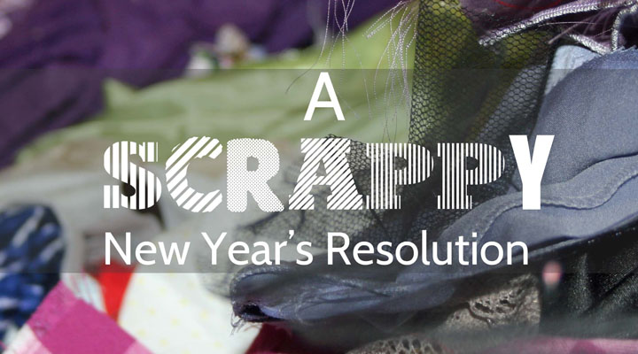 Organizing Scrap Fabric; A New Year's Resolution