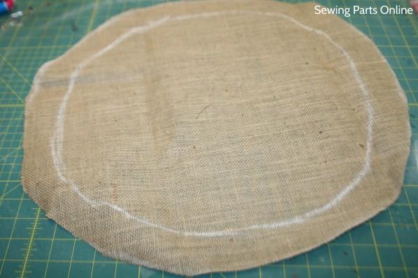Burlap Hanging Planter_SewingPartsOnline 3