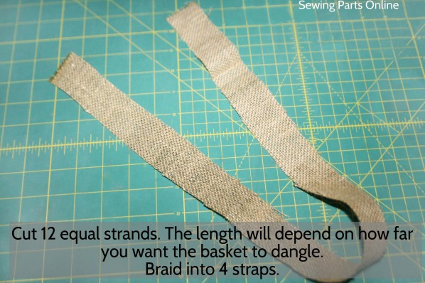 Burlap Hanging Planter_SewingPartsOnline 9