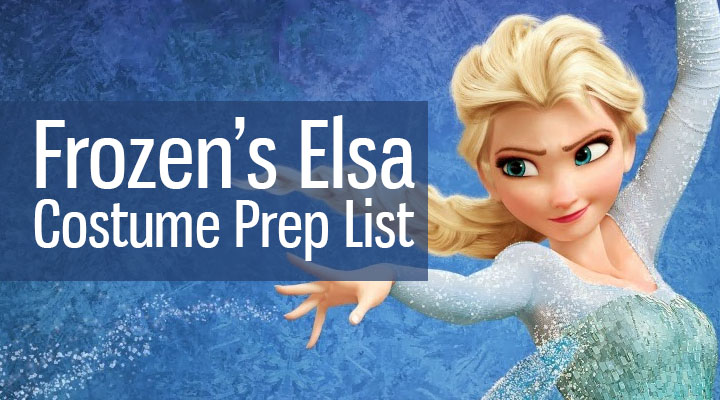 Elsa from Frozen Costume Prep List