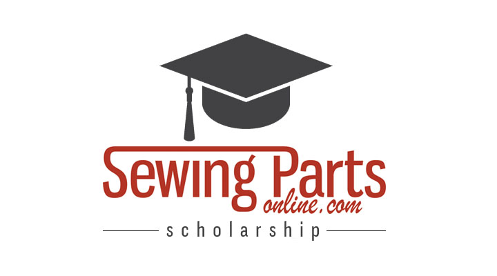 First Recipient of our Annual Sewing Parts Online Scholarship
