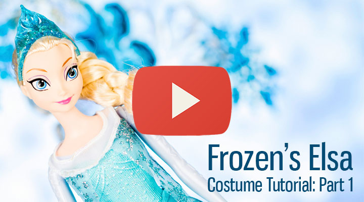 Disney's Frozen – Elsa Costume Tutorial: Part 1