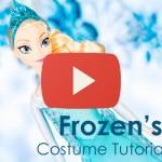 Elsa Costume Tutorial: Part 4