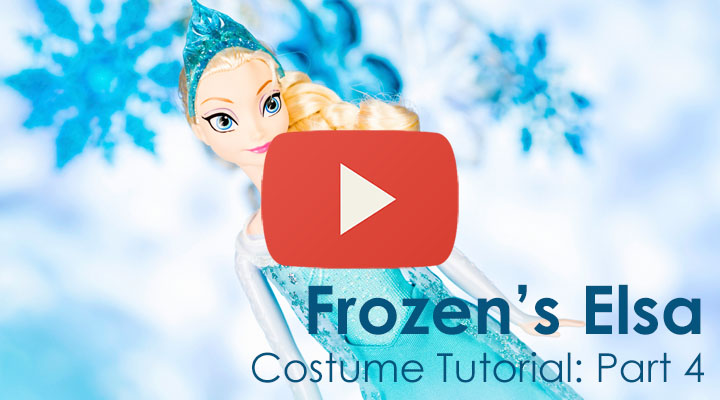 Elsa Costume Tutorial: Part 4