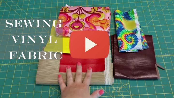 Tips for Sewing Vinyl Fabric