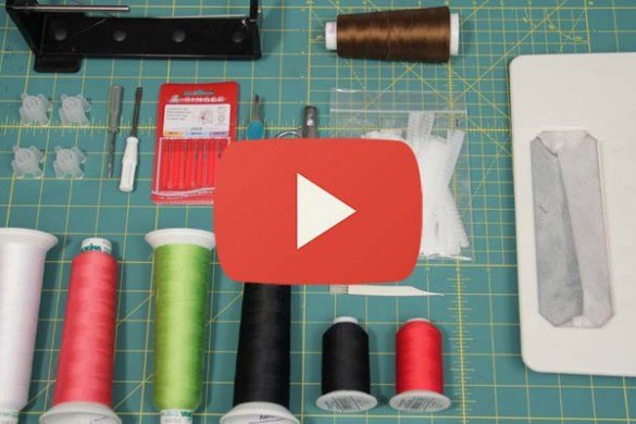 Tools and Changing the Needles Video