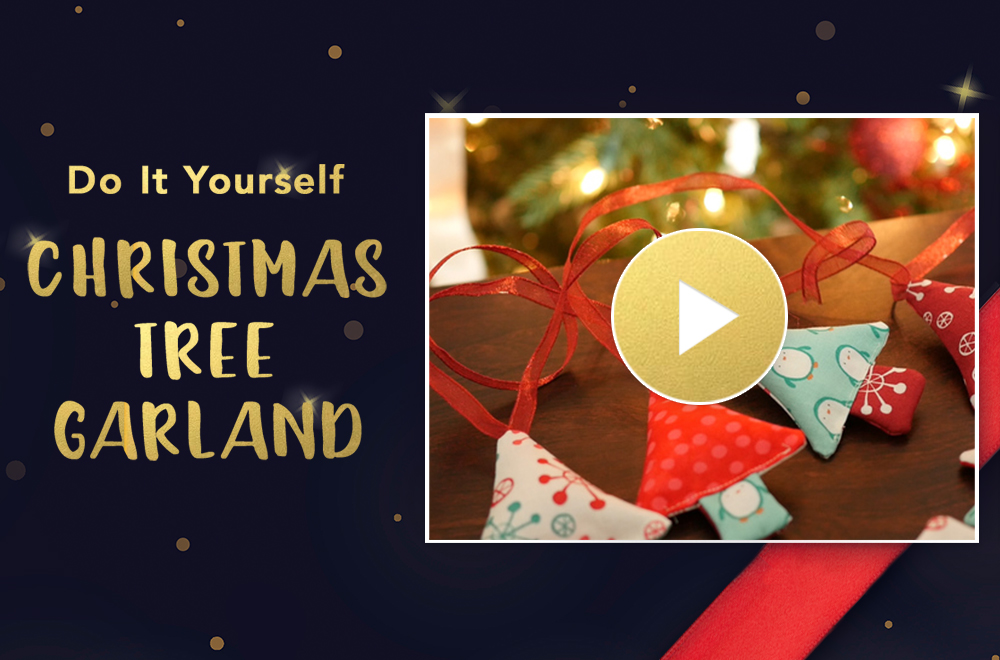 Fabric christmas tree garland tutorial sewing parts online fabric christmas tree garland tutorial sewing parts online everything sewing delivered quickly to your door solutioingenieria Gallery