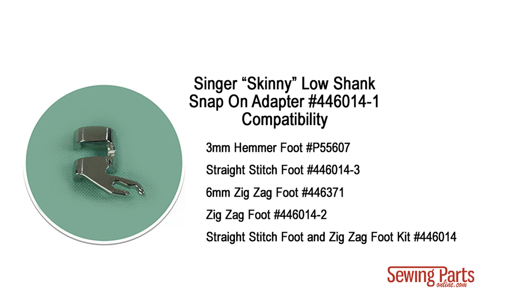 Understanding Singer Shanks And Snap On Presser Feet Sewing Parts Interesting Is My Sewing Machine Low Shank