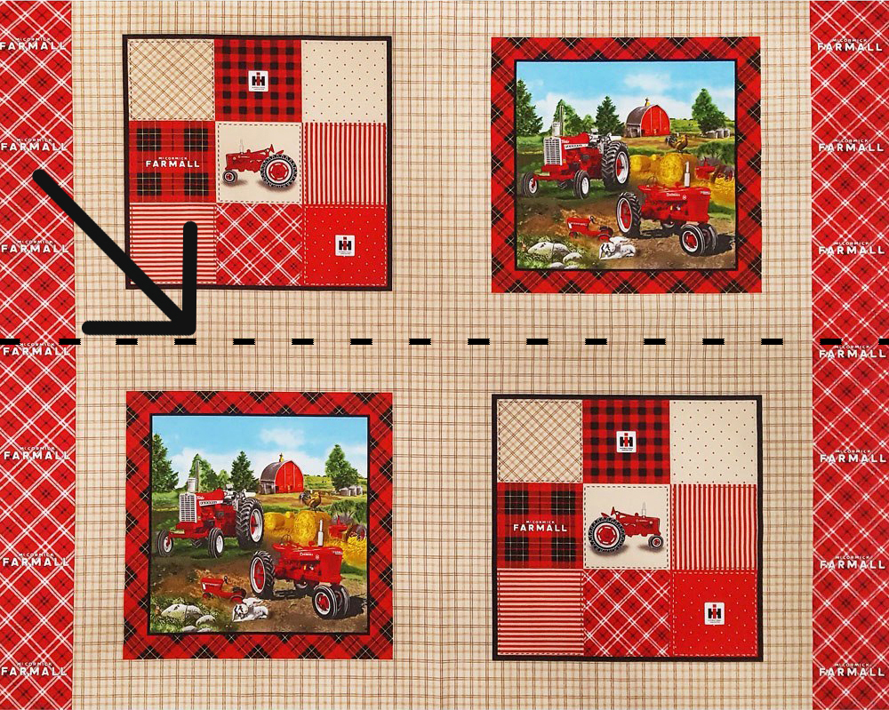 Cut Fabric Panel