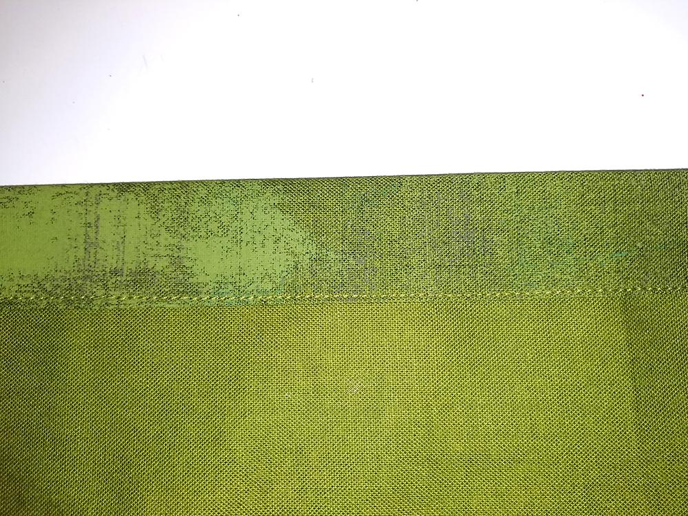 Sew Pillow Back - Step Three