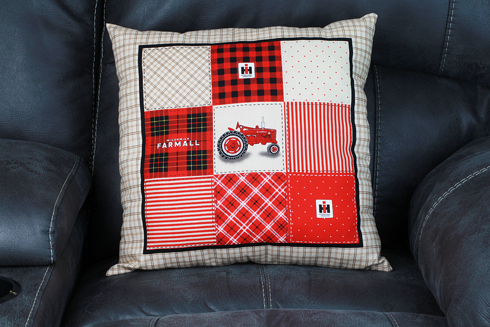 Farmall Pillow - Front