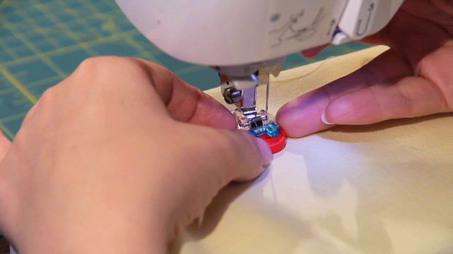 How to Use a Sew On Button Foot