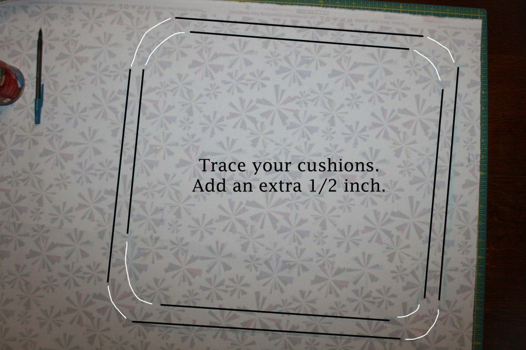 Cushion Step 1