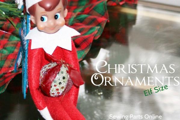 Sewing Parts Online Elf Ornament