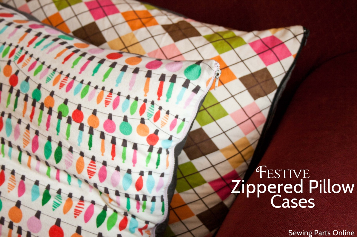 Ed Zippered Pillow Cases In Minutes
