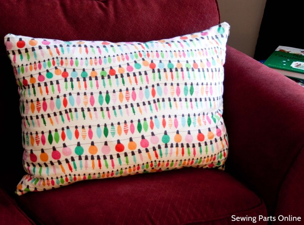 Sewing Parts Online Holiday Fitted Zipper Pillow Cases
