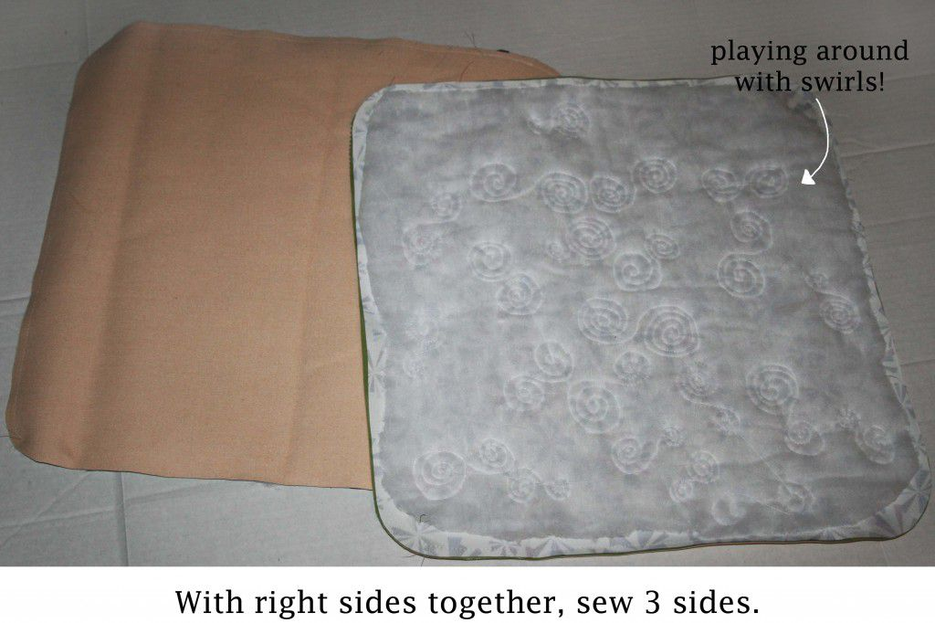 cushion step 7