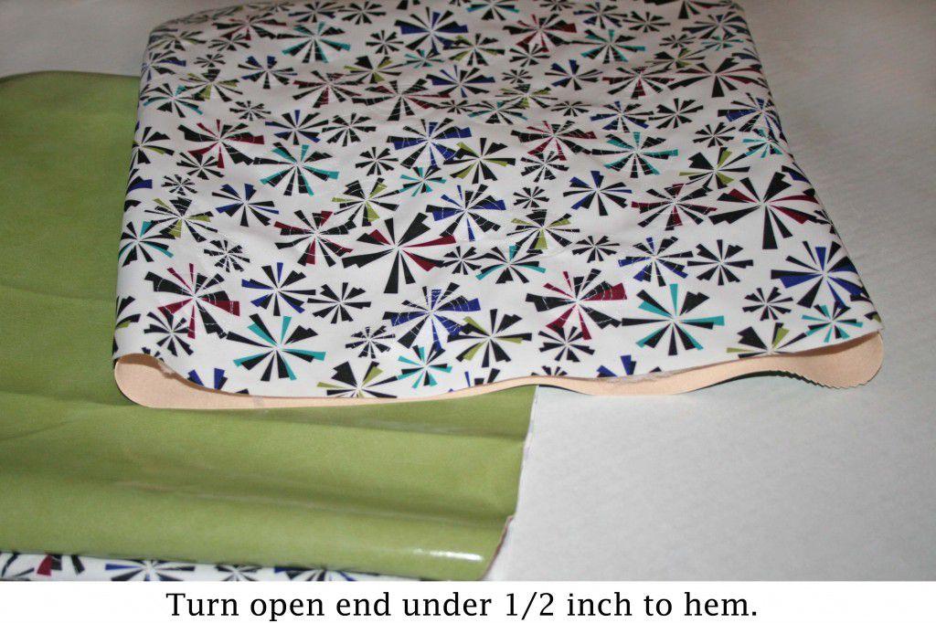 cushion step 8