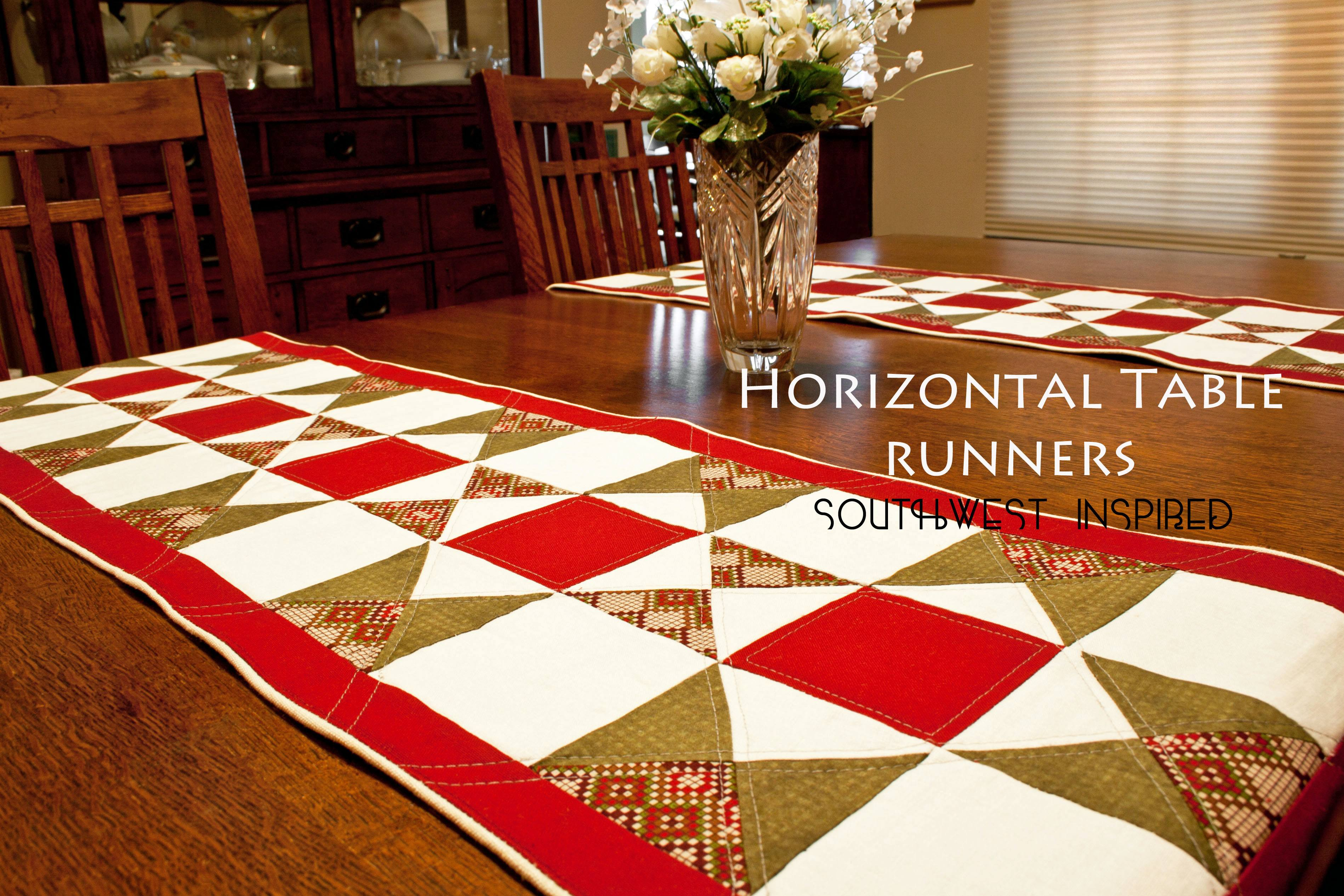 Southwest Inspired Horizontal Table Runner   Sewing Parts Online    Everything Sewing, Delivered Quickly To Your Door
