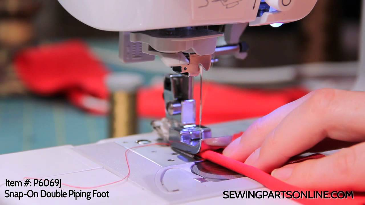 youtube how to use sewing double needle on bernina
