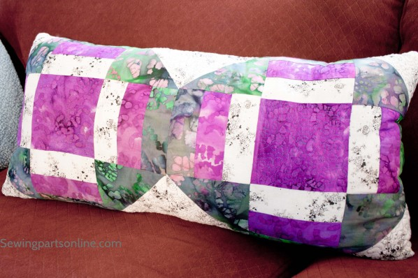 purple yellow stippling pillow sewing parts online