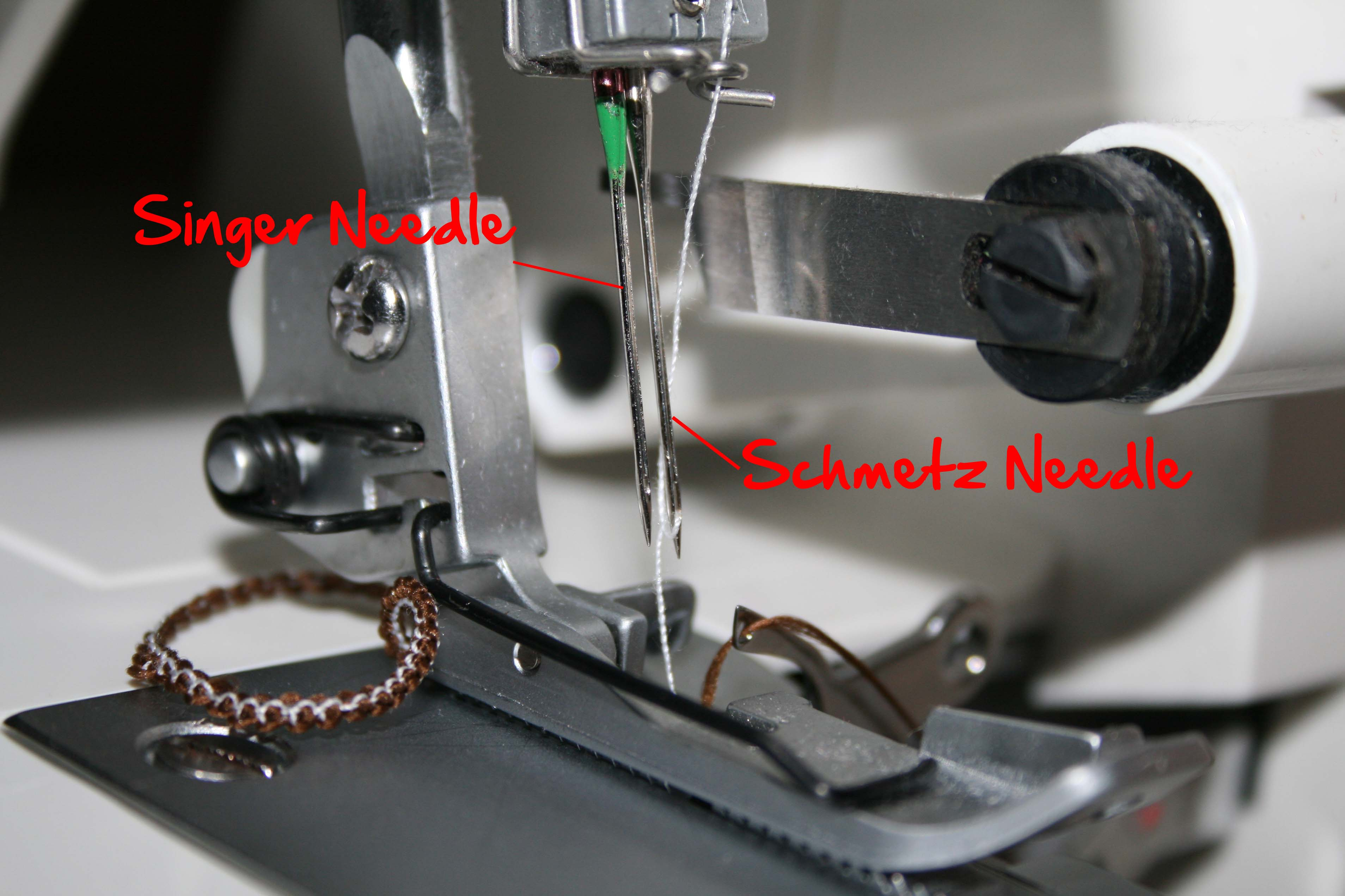 What Needles Can Be Used With a Serger?