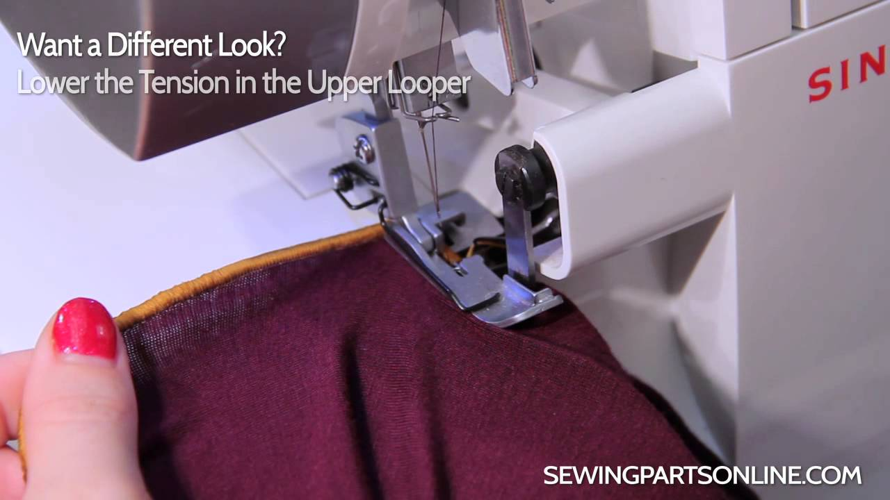 Serger Tutorial Lettuce Edges Sewing Parts Online
