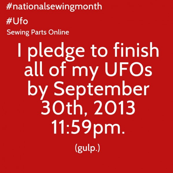 sewing month pledge