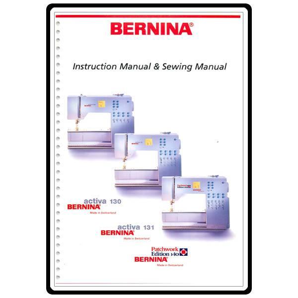 Bernina 1300DC Manuals and User Guides, Sewing Machine ...