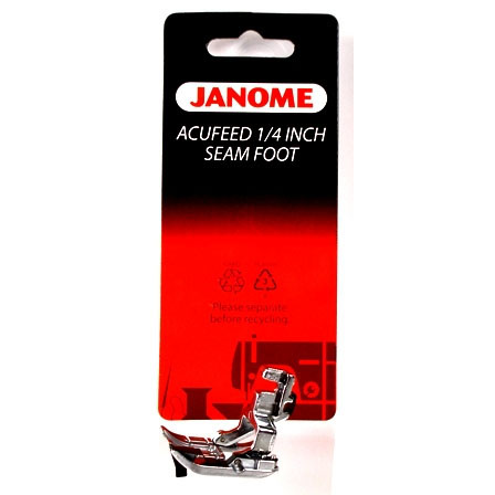 1 4 Quot Acufeed Seam Presser Foot Janome 202031002 Sewing