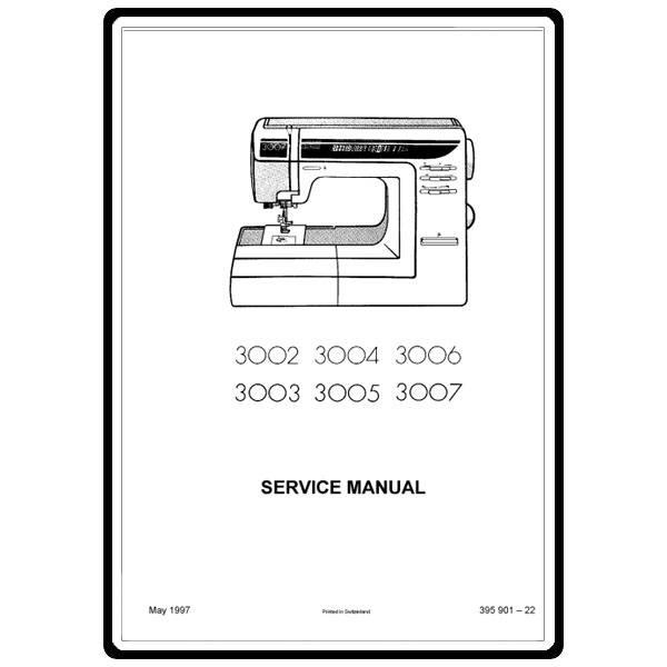 elna 3007 sewing machine manual