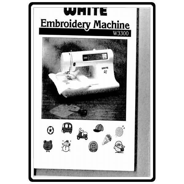 white sewing machine repair manual