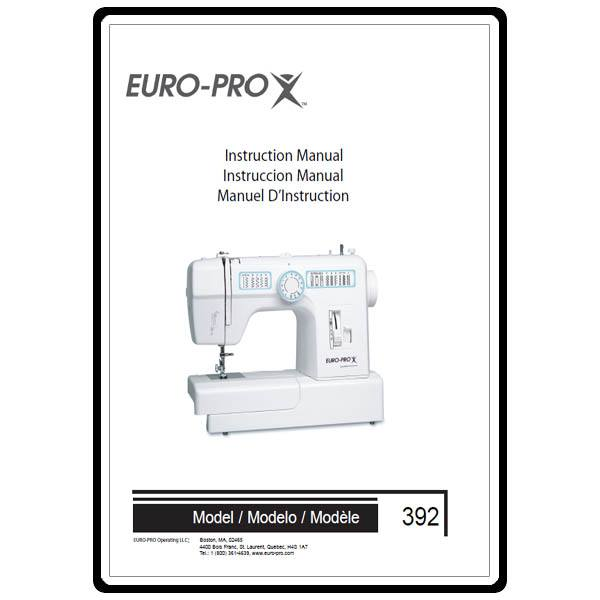 instruction manual  euro pro 392 sewing parts online Euro Money Euro to Dollar Conversion