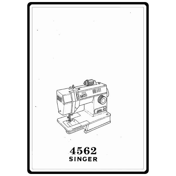 singer sewing machine model 4562 manual