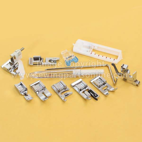 Loop And Hook >> Snap On Presser Feet Set, Low Shank (12 Piece) # 5011L ...