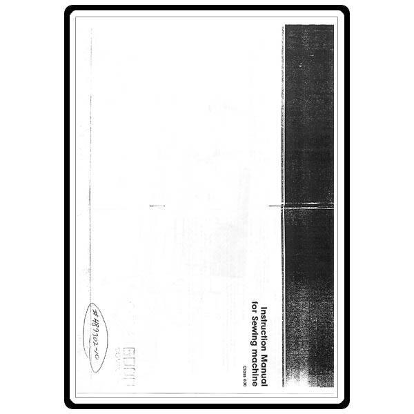 elna 6000 sewing machine manual pdf