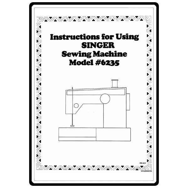 singer 6235 sewing machine