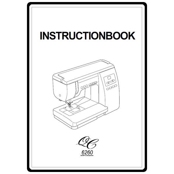 janome 6260 instruction manual