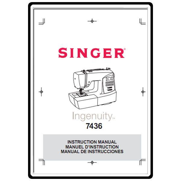 singer ingenuity sewing machine manual