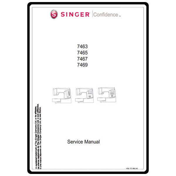 service manual  singer 7469 confidence sewing parts online Singer Sewing Machine ManualsOnline Identify Old Singer Sewing Machine