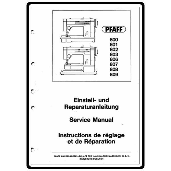 pfaff 1471 service and repair manual