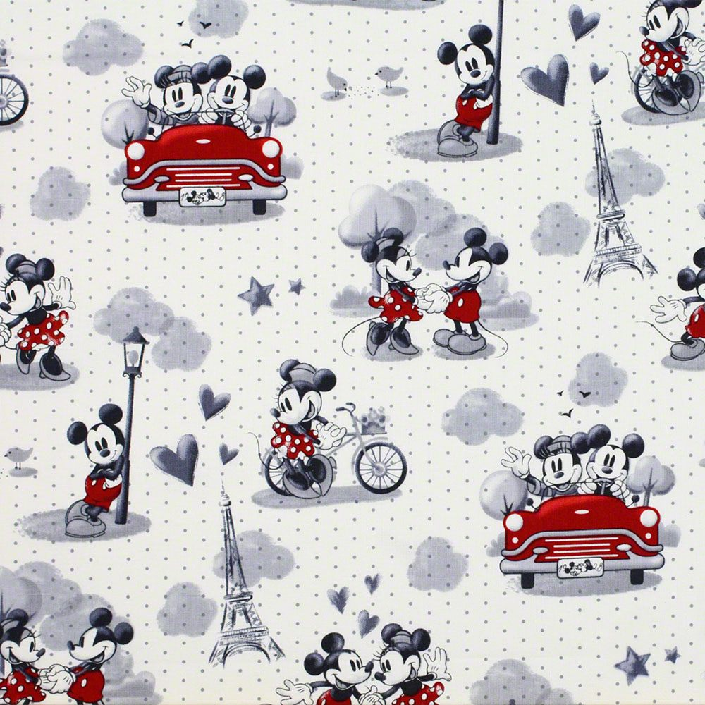 Mickey And Minnie Mouse Vintage Wallpaper