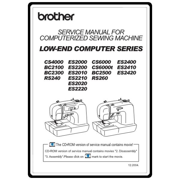 cs 4000 sewing machine