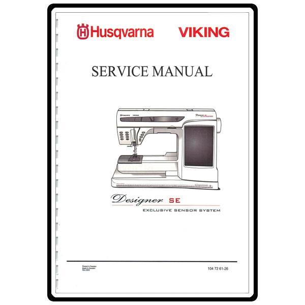 husqvarna viking designer se service manual